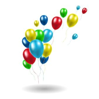 Реалистичные глянцевые воздушные шары на день рождения, торжества, вечеринки, свадьбы