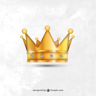 現実的な黄金の王冠