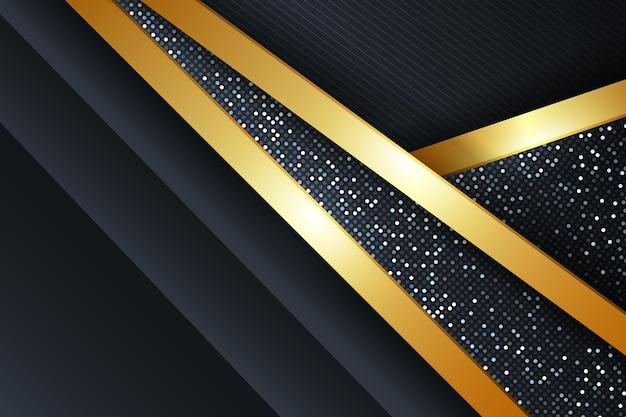 Реалистичный золотой роскошный фон