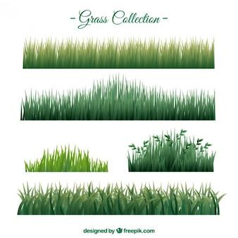 Реалистичный набор травы