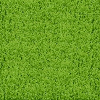 装飾、ギフト包装紙、カバーのための現実的な緑の草の背景。