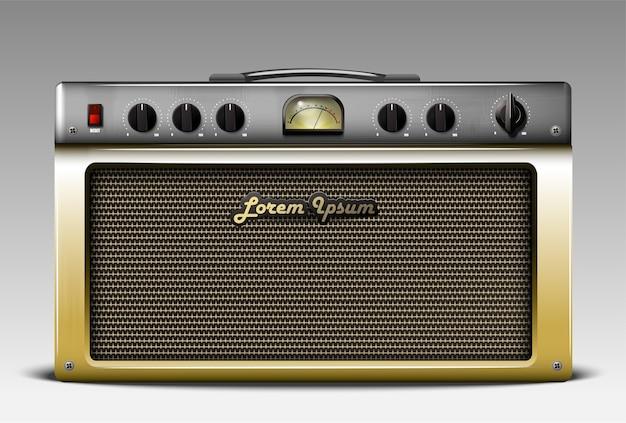 Realistic guitar combo amp