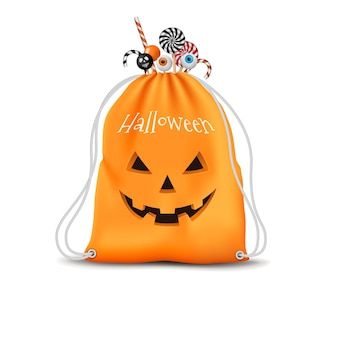 Реалистичная сумка на хэллоуин