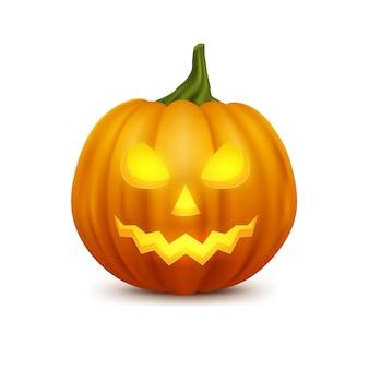 Реалистичная тыква на хэллоуин