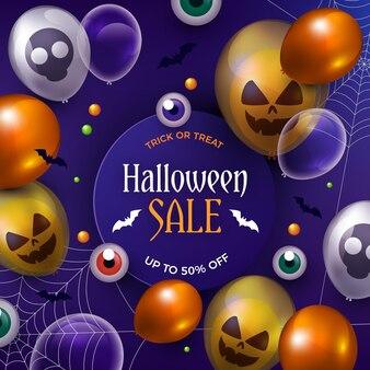 Realistic halloween sale