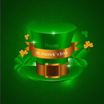 Realistic hat theme for st. patricks day