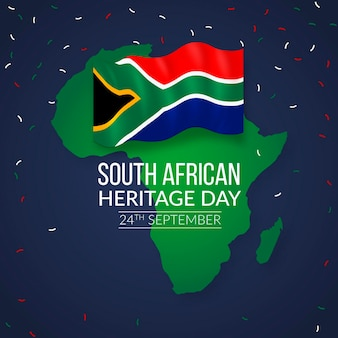 Realistic heritage day event in south africa