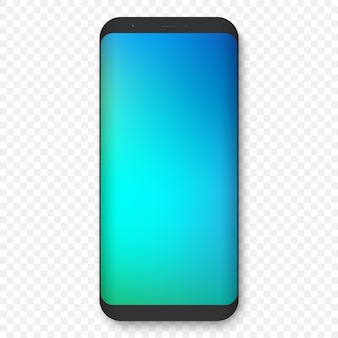 Realistic high quality phone concept with camera.