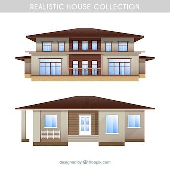 Реалистичная коллекция домов