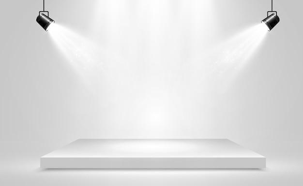 Реалистичная иллюстрация платформы на прозрачном фоне.