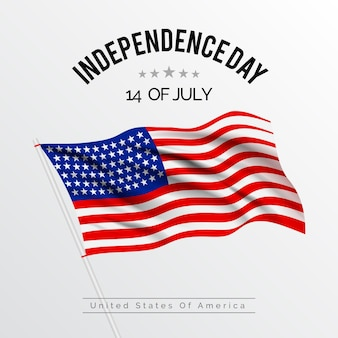 Realistic independence day