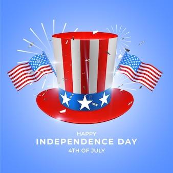Realistico giorno dell'indipendenza