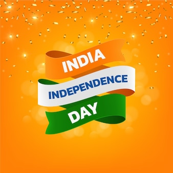현실적인 인도 독립 기념일 그림