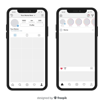 Реалистичная фоторамка на коллекции iphone