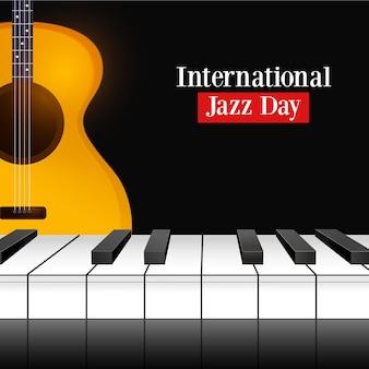 Реалистичный международный день джаза