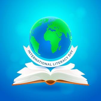 Realistic international literacy day