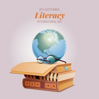 Realistic international literacy day