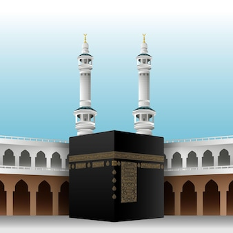 Realistic islamic pilgrimage
