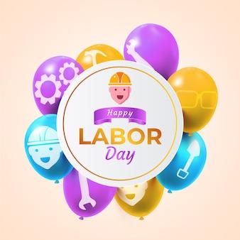 現実的な労働者の日の概念