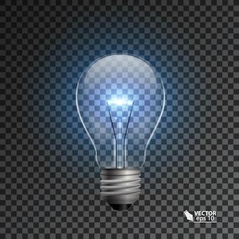 Realistic lamp