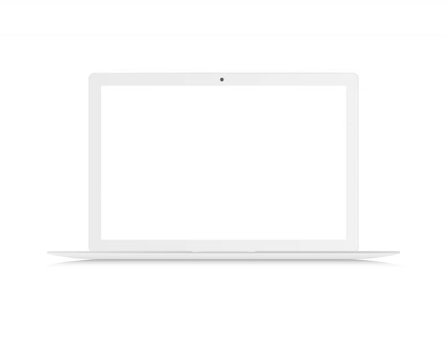 Реалистичный ноутбук