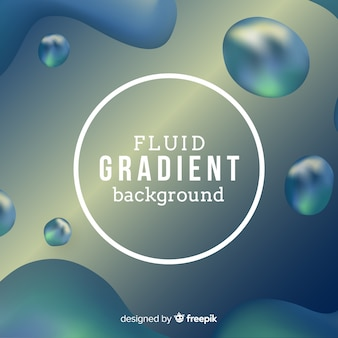 Realistic liquid background