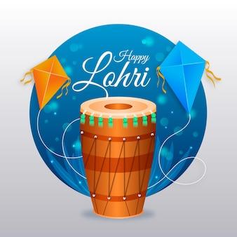 Festival di lohri realistico