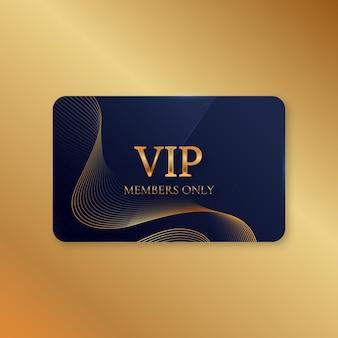 リアルで豪華なvipカードテンプレート
