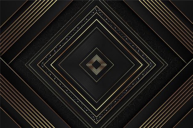 Design realistico di sfondo di lusso