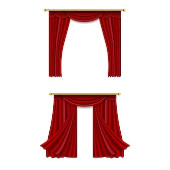 現実的な豪華なカーテンコーニスの装飾国産ファブリックインテリアカーテンテキスタイルランブレキン