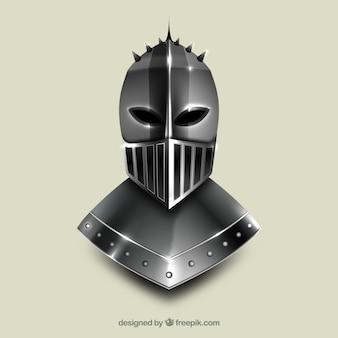 Realistic medieval helmet