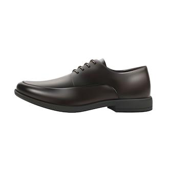 Realistic men shoes