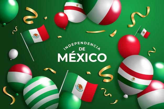 現実的なメキシコの独立記念日の背景