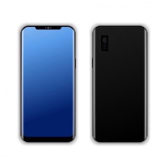 Realistic modern smart phone  vector.
