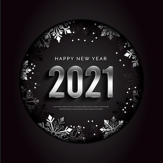 Realistic new year 2021