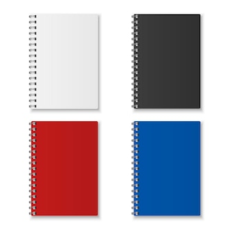 Realistic notebook set
