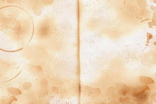 空きスペースのあるリアルな古紙の質感