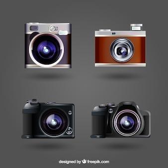 エレガントなカメラの現実的なパック