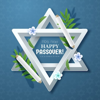 Realistic passover (pesach) concept