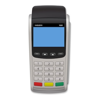 Realistic payment terminal