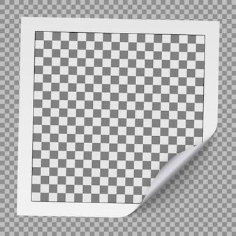 Realistic photo frame.