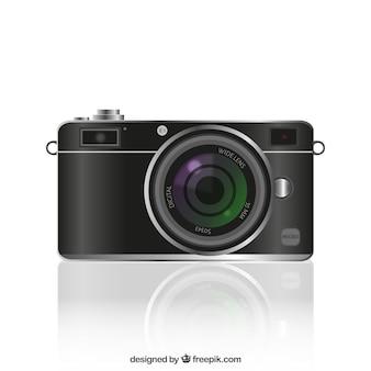 Realistic photography camera