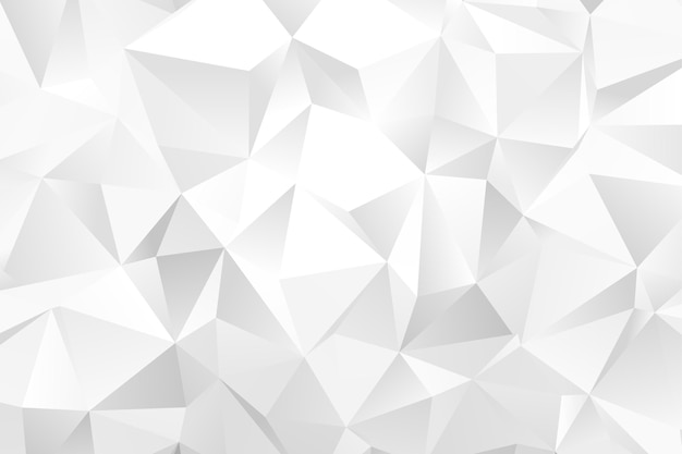 Realistic polygonal background