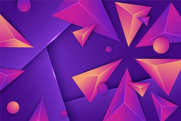 Realistic polygonal background