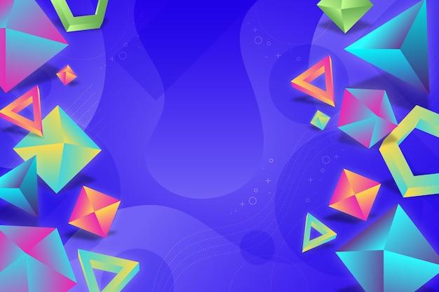 リアルな多角形の背景