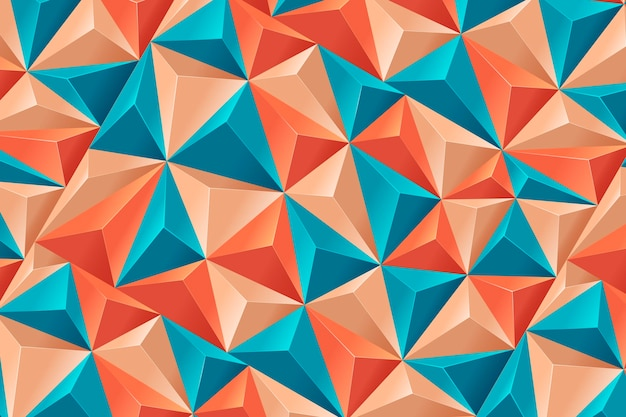Реалистичный многоугольный фон