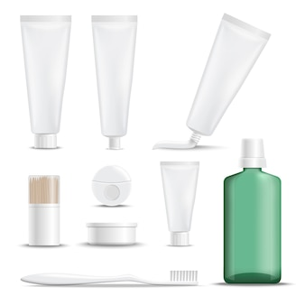 Realistic products for teeth care
