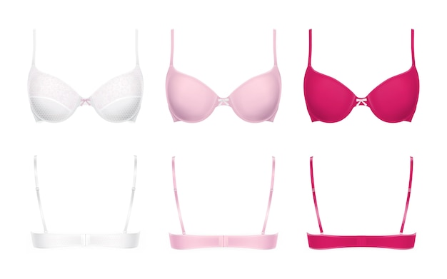 Realistic push-up bras