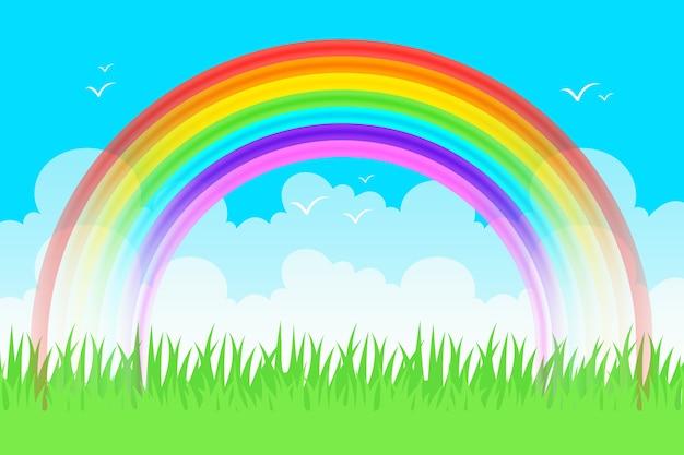 Реалистичная концепция радуги