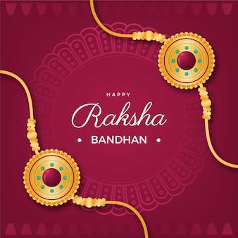 현실적인 raksha bandhan 그림
